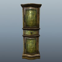 3ds max linen cabinet