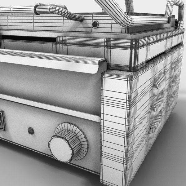 Dc Kitchen Supply: 3d Model Restaurant Kitchen Equipment Appliances