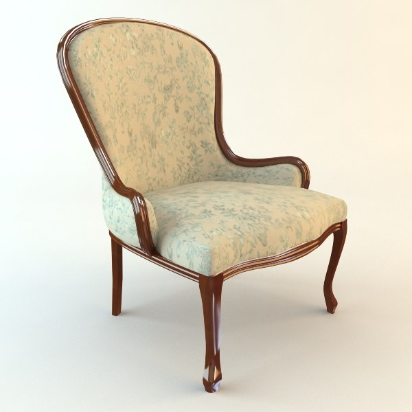 Classical Antique Armchair