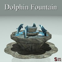 roman fountain dolphin lwo