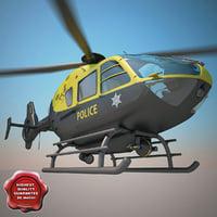 3d model eurocopter ec-135