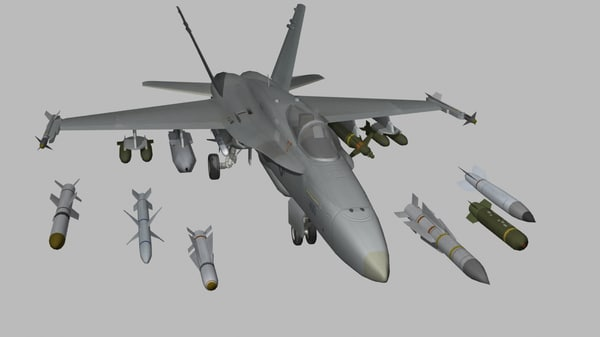 max games ready - F-18 Hornet US Navy Jet Fighter Game Ready... by Petr005