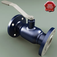 flanged ball valve v2 max