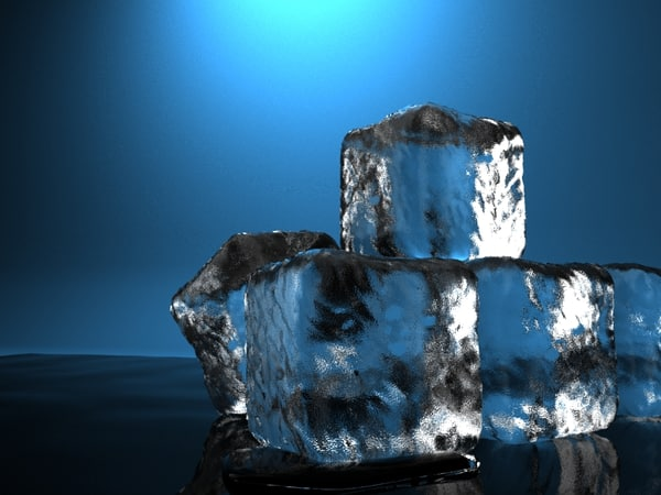 3d model ice cube - Ice cubes... by radekchovancik
