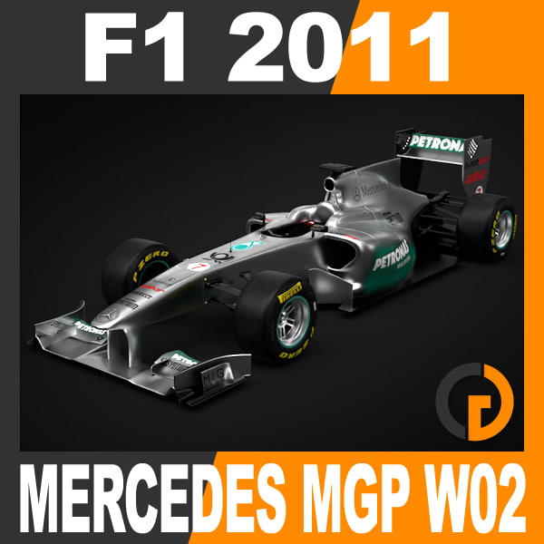F1 2011 Mercedes MGP W02 - GP Petronas Team