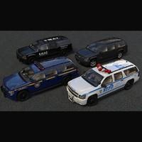 Chevrolet Suburban NYPD SPNY SWAT