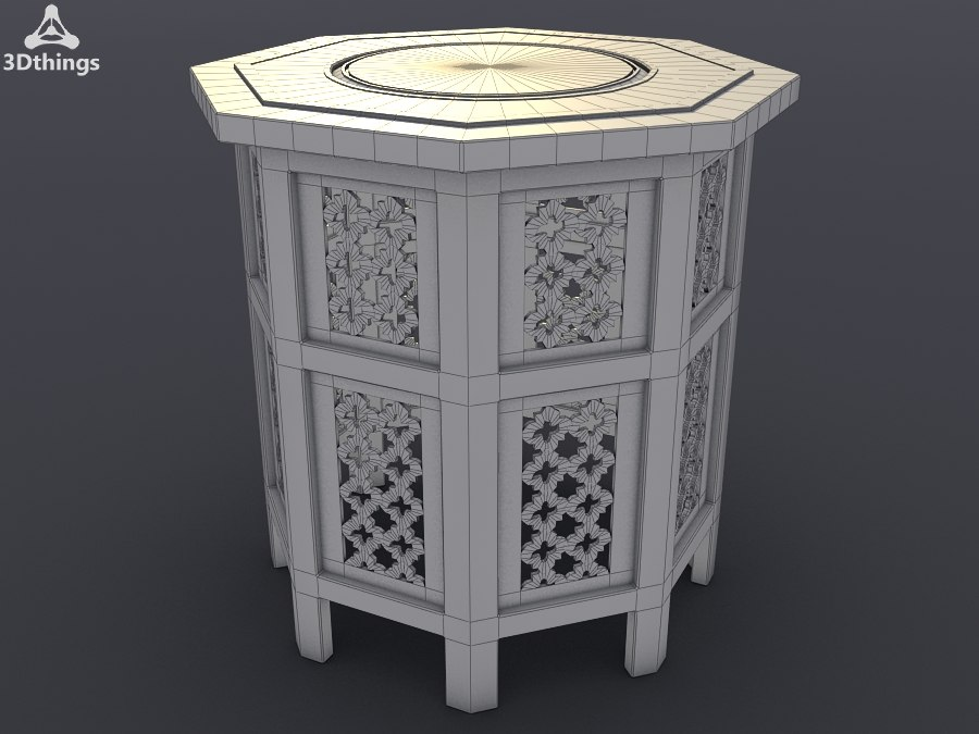 Small Moroccan octagonal inlaid table.jpg