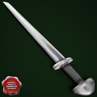 3d viking sword v7