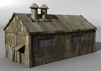 3d model of warehouse building