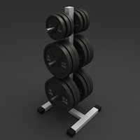 3d weight rack