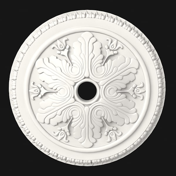 petergof classic ceiling decor rose medallion rosette p32a.jpg