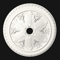 petergof classic ceiling decor rose medallion rosette p32a