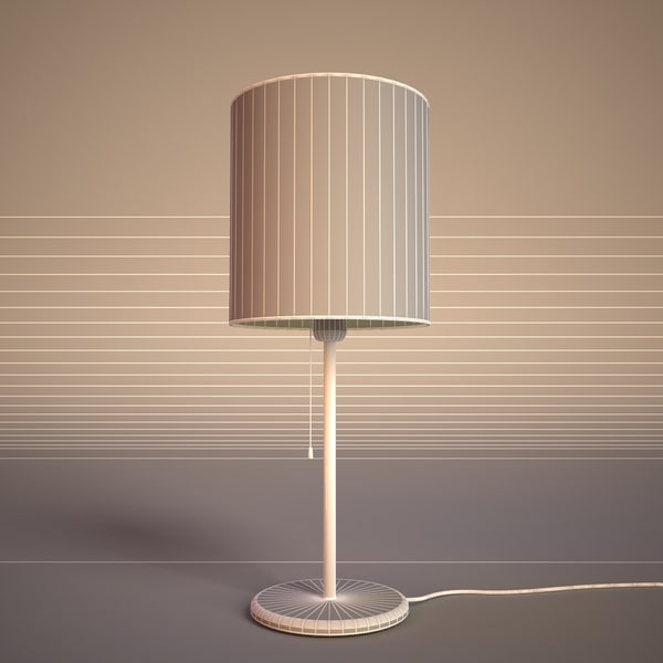 3d max desk lamp - Desk Lamp... by 3dpioneer