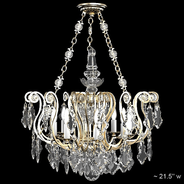 schonbek 2786-47 classic crystal luxury swarowski glass chandelier candle light ceiling lamp.jpg