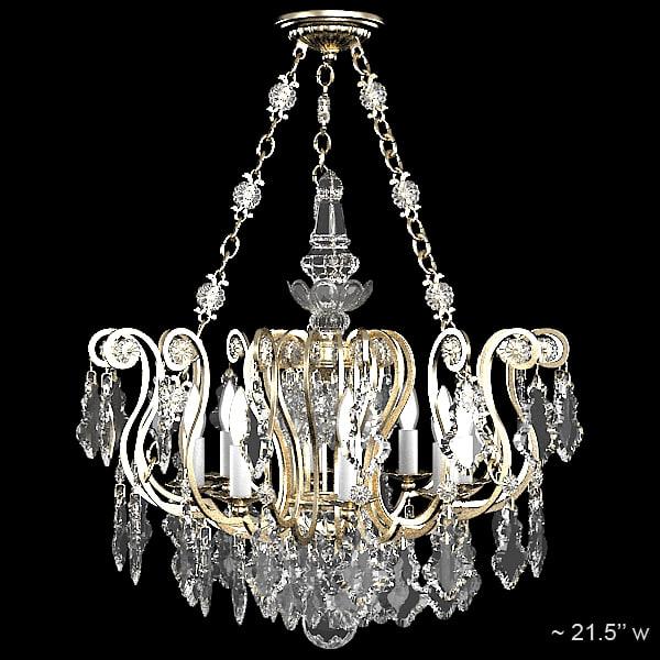 Schonbek Chandelier Replacement Crystals: Max Schonbek 2786 47 Classic