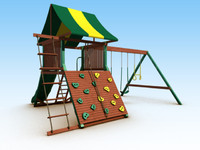 outdoor playset 3d max