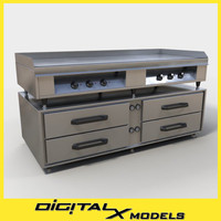 3d commercial burner