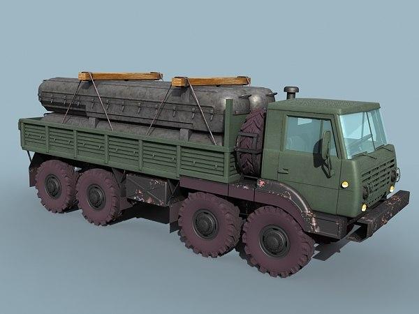 SA-11/17 missile transporter