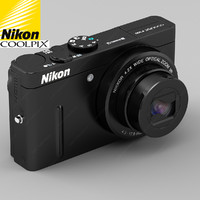 New Nikon Coolpix P300 Digital Camera (Black)