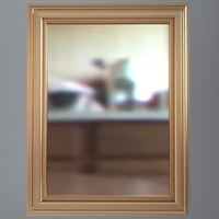 3ds max wall mirror