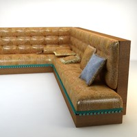 Turkish Hookah Sofa
