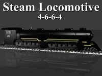 4-6-6-4 Steam Locomotive