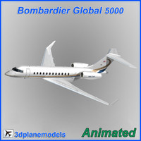 Bombardier Global 5000 Private livery 4