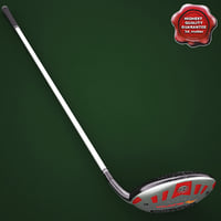 golf stick taylormade burner 3d c4d