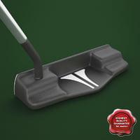 Golf blade putter 1c