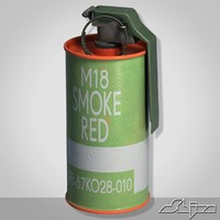Grenade M18 Red Smoke