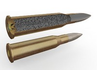 3d max mosin rifle cartridge