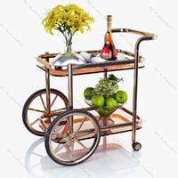 serving table 3d model