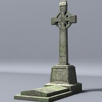 lightwave celtic gravestone