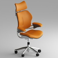 3dsmax human freedom chair