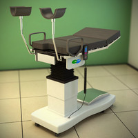 gynecological table 3d max
