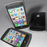 mobile mob002 3d max