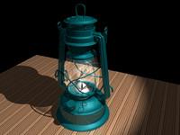 lantern light 3d model