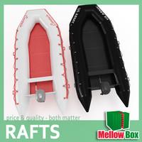 3dsmax rubber boat