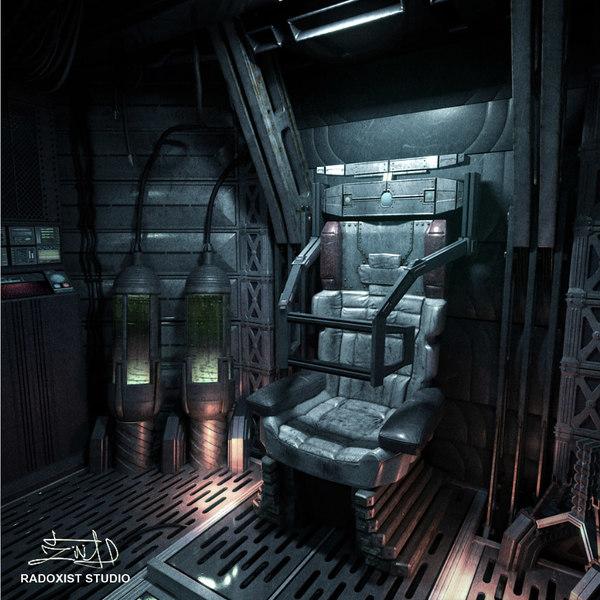 inside space station model - photo #2
