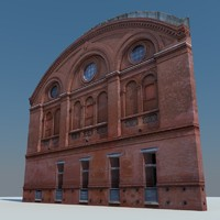facade photorealistic 3d 3ds