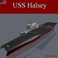 USS Halsey Supercarrier