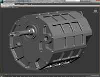 3ds max tractive gearbox