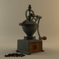 3d coffee coffe model