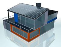 building solar 3d c4d