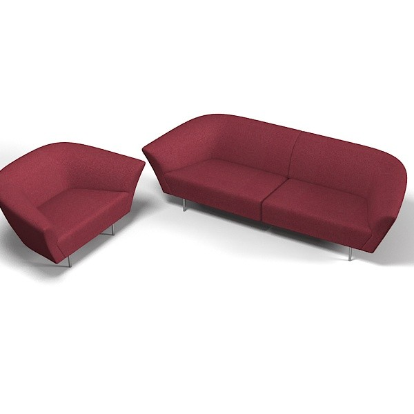 arper loop modern elegant soft contemporary sofa chair armchair club