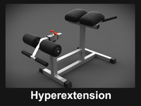 free max mode hyperextension simulator body-building