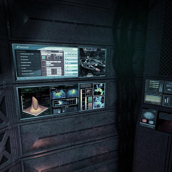 space shuttle interior 3d scan - photo #42