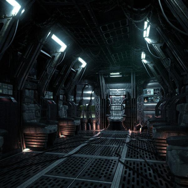 space shuttle interior 3d scan - photo #39