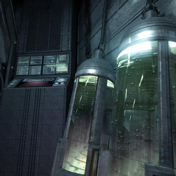 space shuttle interior 3d scan - photo #37