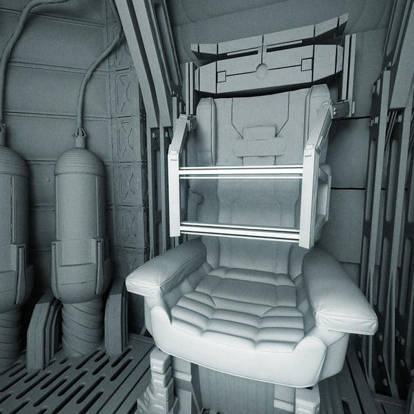 space shuttle interior 3d scan - photo #48